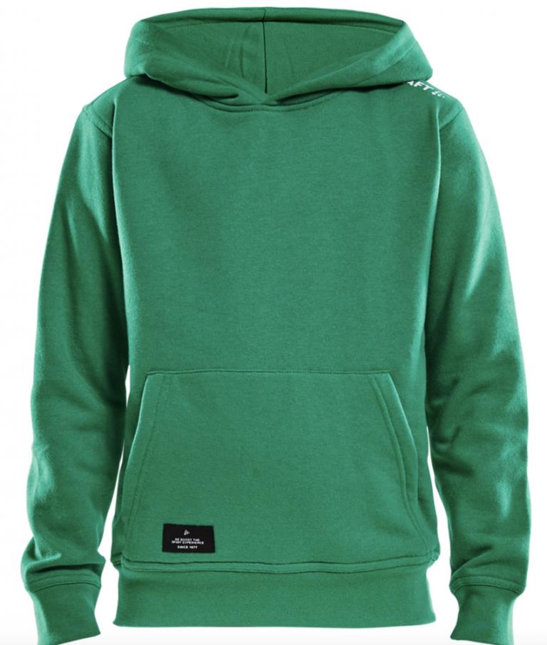 Bruutsportief Craft hoody green