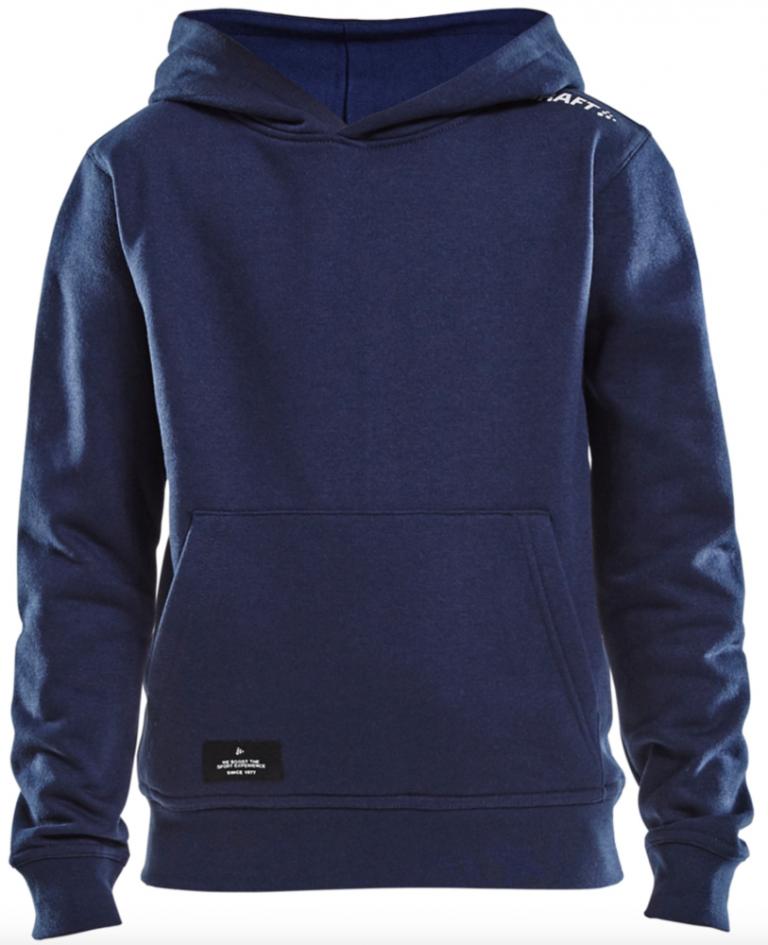 Bruutsportief Craft hoody marine blue